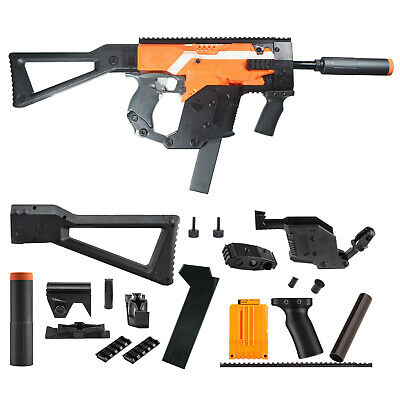 Worker Mod Kriss Vector Kits Combo 12 Items for Nerf Stryfe Toy Color Black