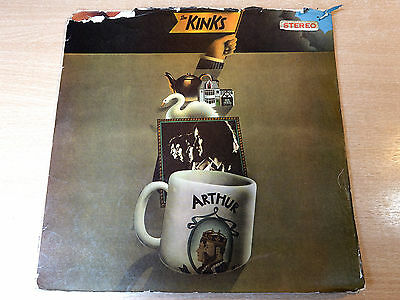EX- !! Kinks/Arthur or The Decline And Fall Of British Empire/1969 Pye Stereo LP