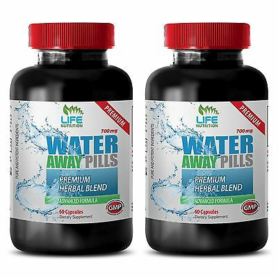 Steady Energy Boost Caps - Water Away Pills 700mg - Organic Dandelion Root 2B
