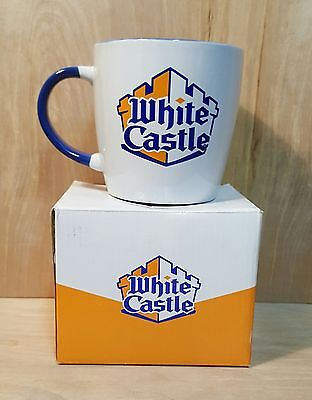 WHITE CASTLE COFFEE MUG in Original BOX  ~ Craver Nation ~ LARGE Size