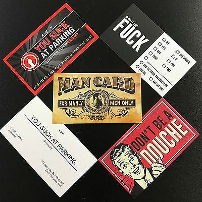 Variety pack funny business Cards (10 pack)
