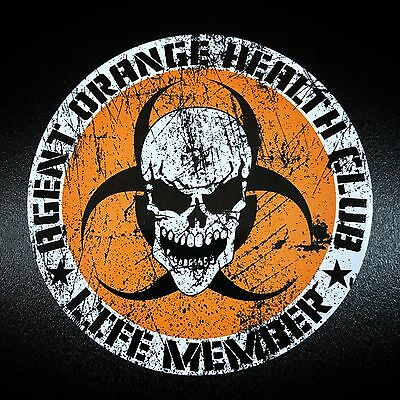 Agent Orange Circle - Sticker