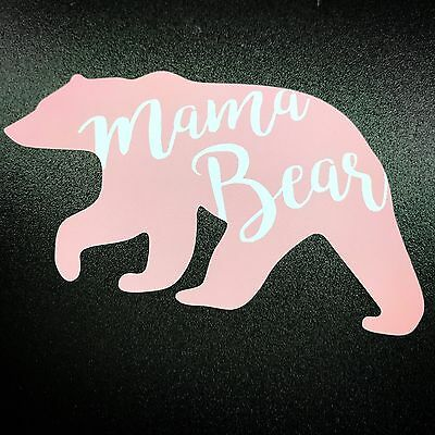 Mama Bear Pink - Sticker