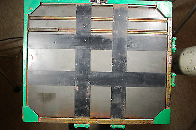 Vintage Albert Specialty Co. Wooden & Metal Photographic Printing Easel 11 x 14