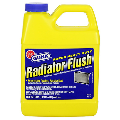 Gunk C2124 Super Heavy Duty Radiator Flush - 22 oz.