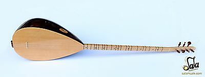 Turkish Quality Long Neck Juniper Baglama Saz For Sale Asl-305