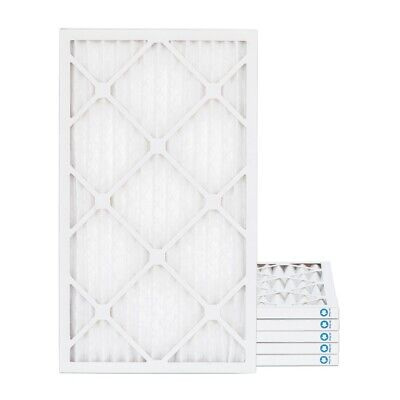 18x24x1 MERV 8 Pleated AC Furnace Air Filters.  6 Pack