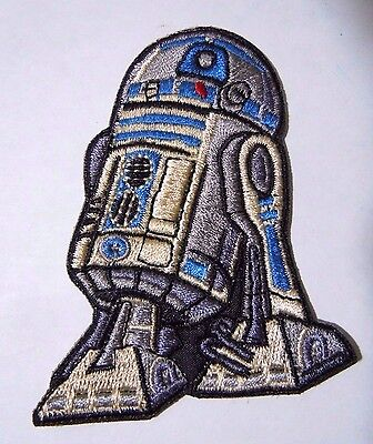 "R2-D2 Star Wars Embroidered Iron-On Patch - 3"" - High Quality"