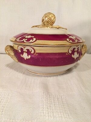 Late Victorian Paris Porcelain Covered Vegetable Dish, ca. 1850–1880