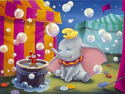Oil Painting HD Print Canvas Decor Wall Art,Disney Dumbo no FRAME Drawing Poster