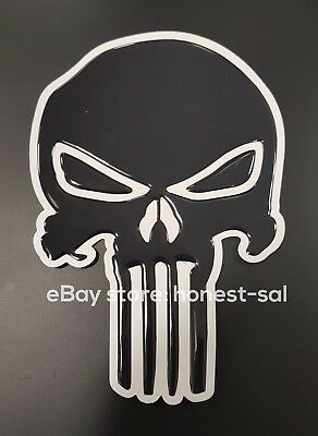 The Punisher  Motorbike Motorcycle Tank Pad Protector Honda Yamaha Suzuki etc