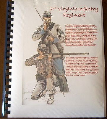 Civil War History of the 2nd Virginia Infantry Regiment