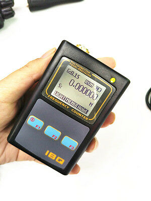 Handheld Frequency Meter Counter Wide Range 10Hz-2.6GHz IBQ102 for Baofeng