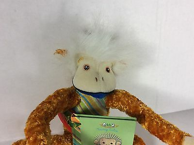 Little Monkey 11 inch with Book plush YoTToY New