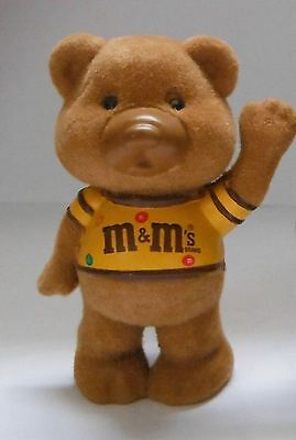 Vintage 1987 Mars M&m's Peanut Chocolate Candy Mini Bear New Collectible