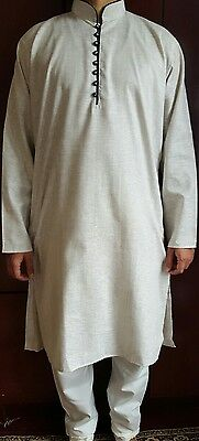 Mens cotton,desi,India,Pakistan,Churidar,kurta pajama,salwar kamez