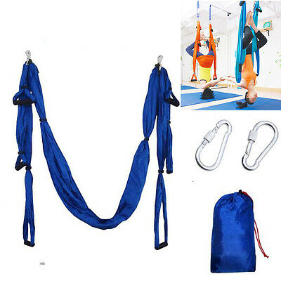 Parachute Anti-gravity Inversion Yoga Hammock Therapy Swing Aerial Large Bearing