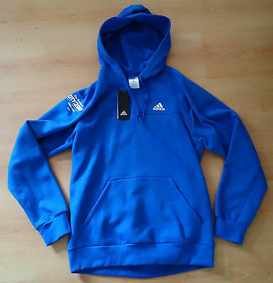 City2Surf Sydney 2016 - Adidas Mens Running Event Hoodie - Blue - Tagged - M