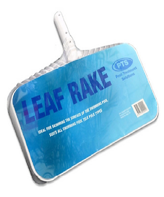 PTS LEAF RAKE HEAD w/ Fine Mesh Net for Skimming Most Swimming Pools 44x53x12cm