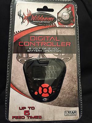 Wildgame Innovations Digital Controller 6V or 12V up to 6 Feed Times