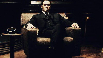 """004 Al Pacino - The Godfather USA Actor 42""""x24"""" Poster"""