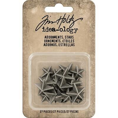Tim Holtz Idea-Ology - Adornments Stars - 27 Pieces