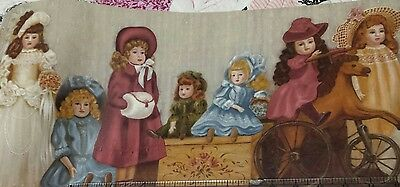 Victorian Antique DOLL's Prepasted, Wall-paper Border BT8555B, new 9.6 yards