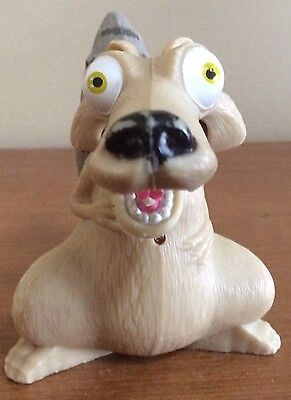 Scrat Ice Age 2 2005 Burger King Action Figure chattering Toy