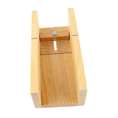 Professional Adjustable Handmade Wood Soap Mold Loaf Cutter Slicer Box Tool