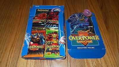 Marvel Overpower Booster Box, 20 card packs Booster Pack (NEW 1995 Fleer)