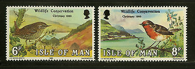 Isle of Man  1980   Scott # 182-183   Mint Never Hinged Set