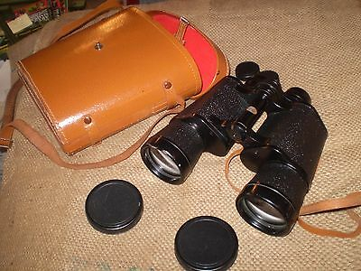Used Japanese 10X50 Field Prismatic Astronomy Binoculars In Case,great Condition