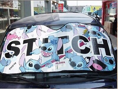 ON SALE # New Disney Stitch Car Window Sun Shade Blind B
