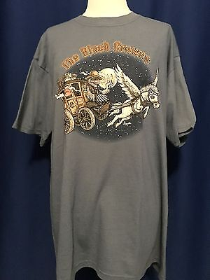 2007 Black Crowes TOUR CONCERT T-SHIRT MINT DEADSTOCK LARGE flying wagon