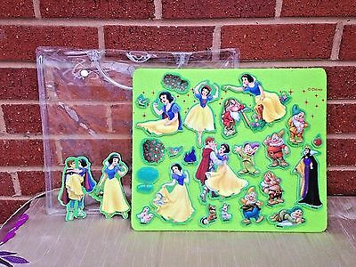 Walt Disney Feltastic Felt Board Snow White and the Seven Dwarfs Playset!