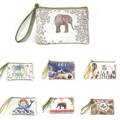 Coin Purse New HandBags Wallet Swinging Purse Scattered Creative Canvas Girl