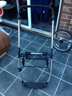 Oyster Max Silver  Chassis Frame Only Pushchair Replacement
