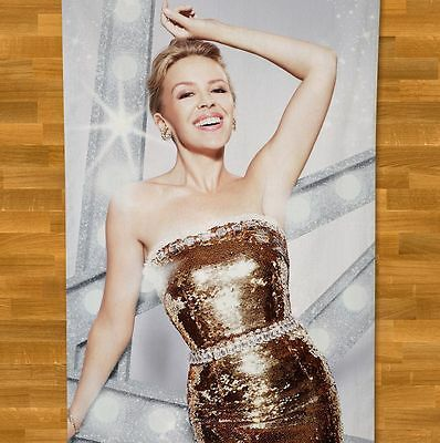 Kylie Minogue Towel NEW Christmas Celebration On A Night Like This All the Lover