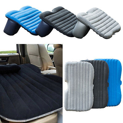 Car Travel Inflatable Airbed Mattress Back Seat Sleep Car Sex Bed with Inflator