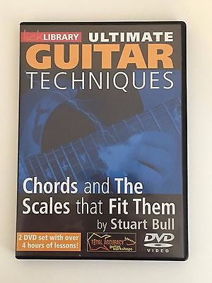 Lick Library -Guitar Techniques -Chords & scales That Fit 2 DVD-Learn To Play