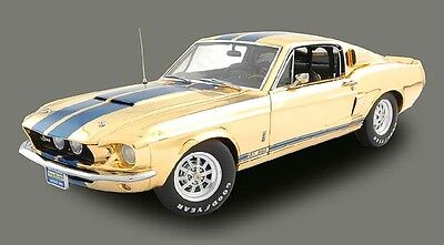 Exact Detail by Lane 1:18 1967 Shelby G.T. 350 Gold Plated 1 of 350
