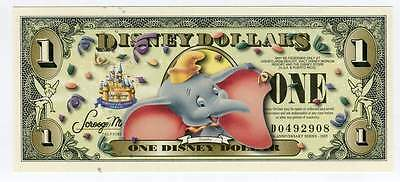 Disney Dollars, 2005D, Uncirculated, The 17Th Year, Dumbo, No Bc