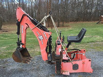 Woods Bh80-X Groundbreaker Backhoe Attachment For Kubota L3940 Maybe Others.