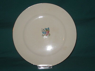 'W' China Plate - DEPTFORD crest