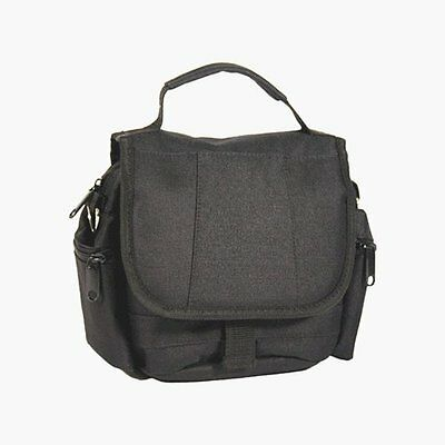 Strand Large Nylon Case Bag for Camcorder and SLR Camera - Black