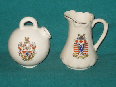 2 Crested Pieces - both THORNABY-ON-TEES crest