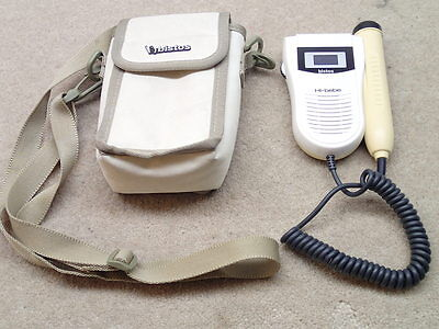 Bistos BT-200 Hi Bebe Fetal Doppler Nice with Case