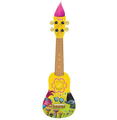 Trolls Mini Guitar Ukulele Kids Music Fun Toy Gift Children Girls Boys Beginners