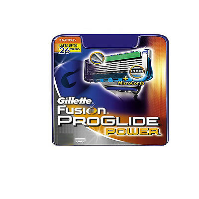 Gillette Fusion Proglide Power Men Shaving Razor / Blades (Choose from Drop Down