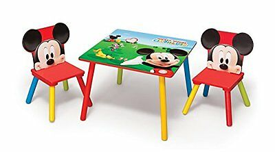 Disney Mickey Mouse Table and Chair